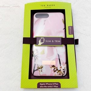 Ted Baker iPhone 8 Plus Case w/ Pink Harmony Print